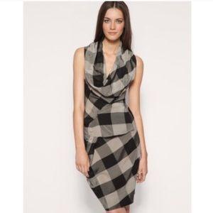All Saints checkered dress US size 6